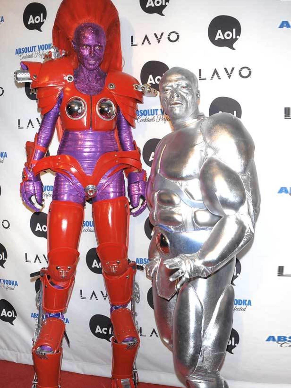 Heidi Klum Halloween Shiva.The A List S Halloween Costumes