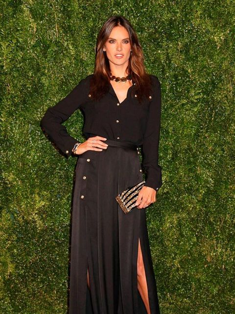 Alessandra Ambrosio at the 11th Annual CFDA in New York, November 2014.