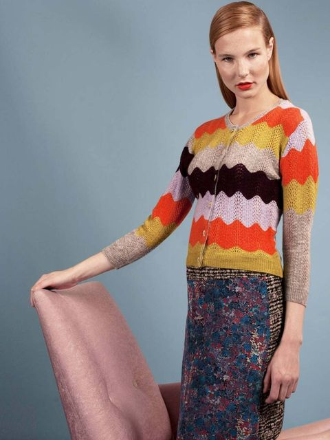 <p>Michael can der Ham knitwear for Brora</p>