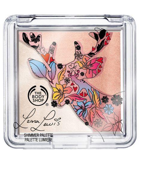 <p>Deer Shimmer Palette in Pink By Leona Lewis</p>