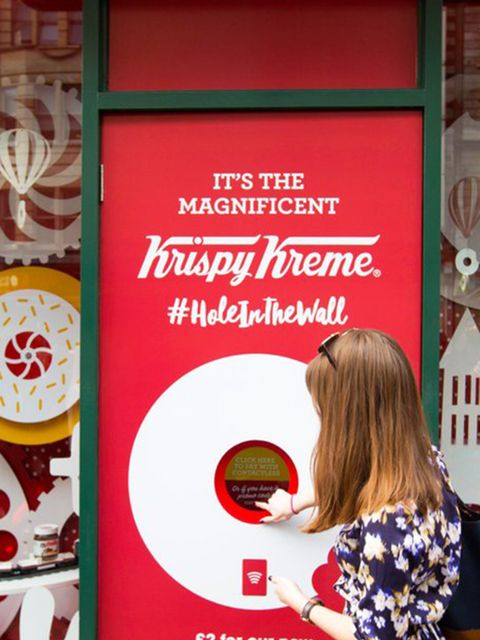 <p>FOOD: Krispy Kreme ATM</p>