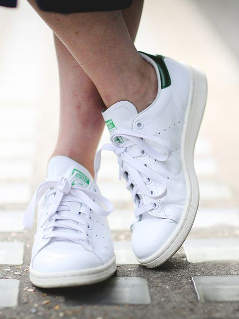 <p>Lorraine Candy, Editor-in-Chief</p>  <p>Adidas trainers</p>