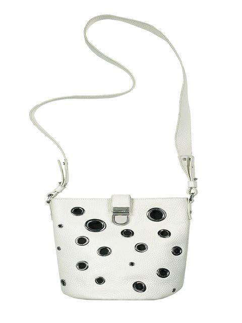 Leather bag, £340, Alexander Mcqueen