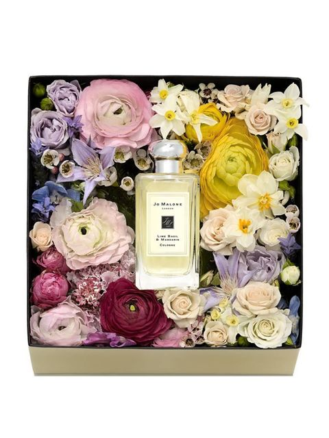 Fragrance and flower box, £130, Jo Malone exclusive to their Regent Street and Sloane Street Boutiques until 6th March