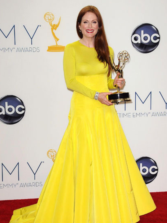 <p>Julianne Moore; Emmy award winner </p>
