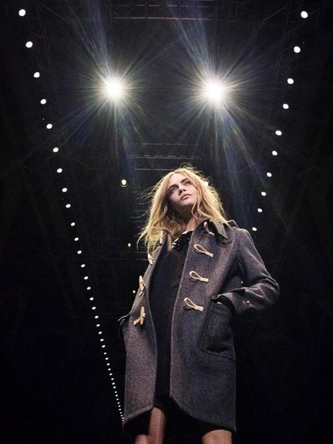 <p>Saint Laurent, autumn/winter 2013</p>