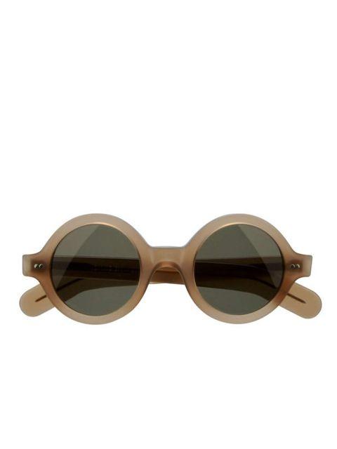 <p>Round frame sunglasses, £249, by Cutler &amp&#x3B; Gross (0207 581 2250)</p>