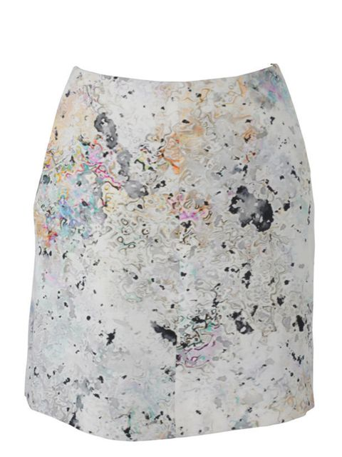 "<p>Watercolour print skirt, £395.50 (was £565), by Josh Goot at <a href=""http://www.liberty.co.uk/fcp/product/Liberty//Watercolour-Print-Skirt,--Josh-Goot/27390"">Liberty</a> </p>"