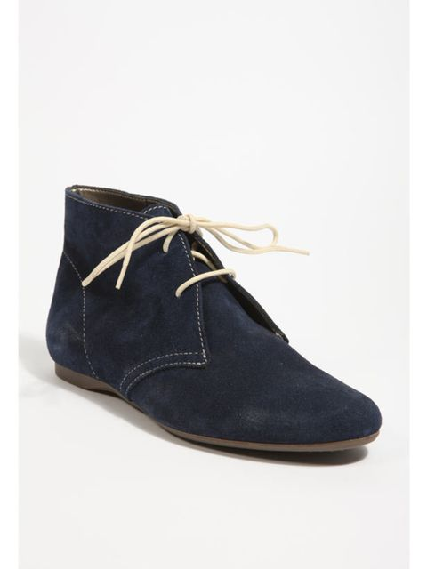 """<p>Navy suede desert boots, £55, by Shakuhachi at <a href=""""http://www.urbanoutfitters.co.uk/Lace-Up-Suede-Ankle-Boot/invt/5310464230964&bklist=icat,5,shop,womens,shoes,wboots"""">Urban Outfitters</a> </p>"""