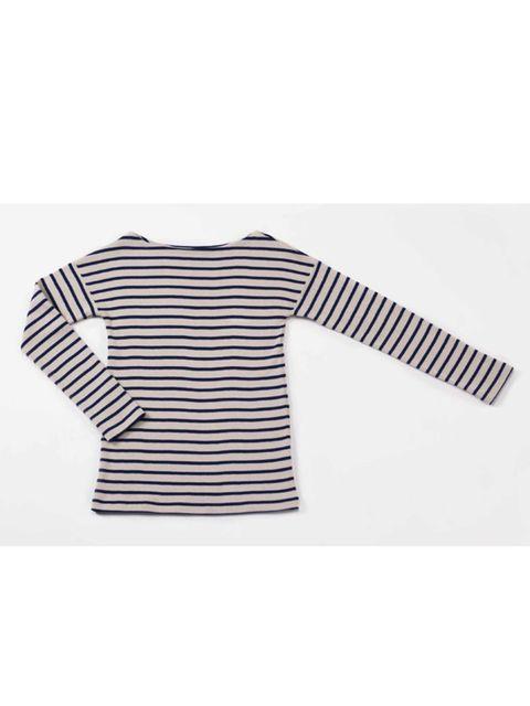 <p>Stripe jumper, £42, by Petit Bateau (0207 462 5770)</p>