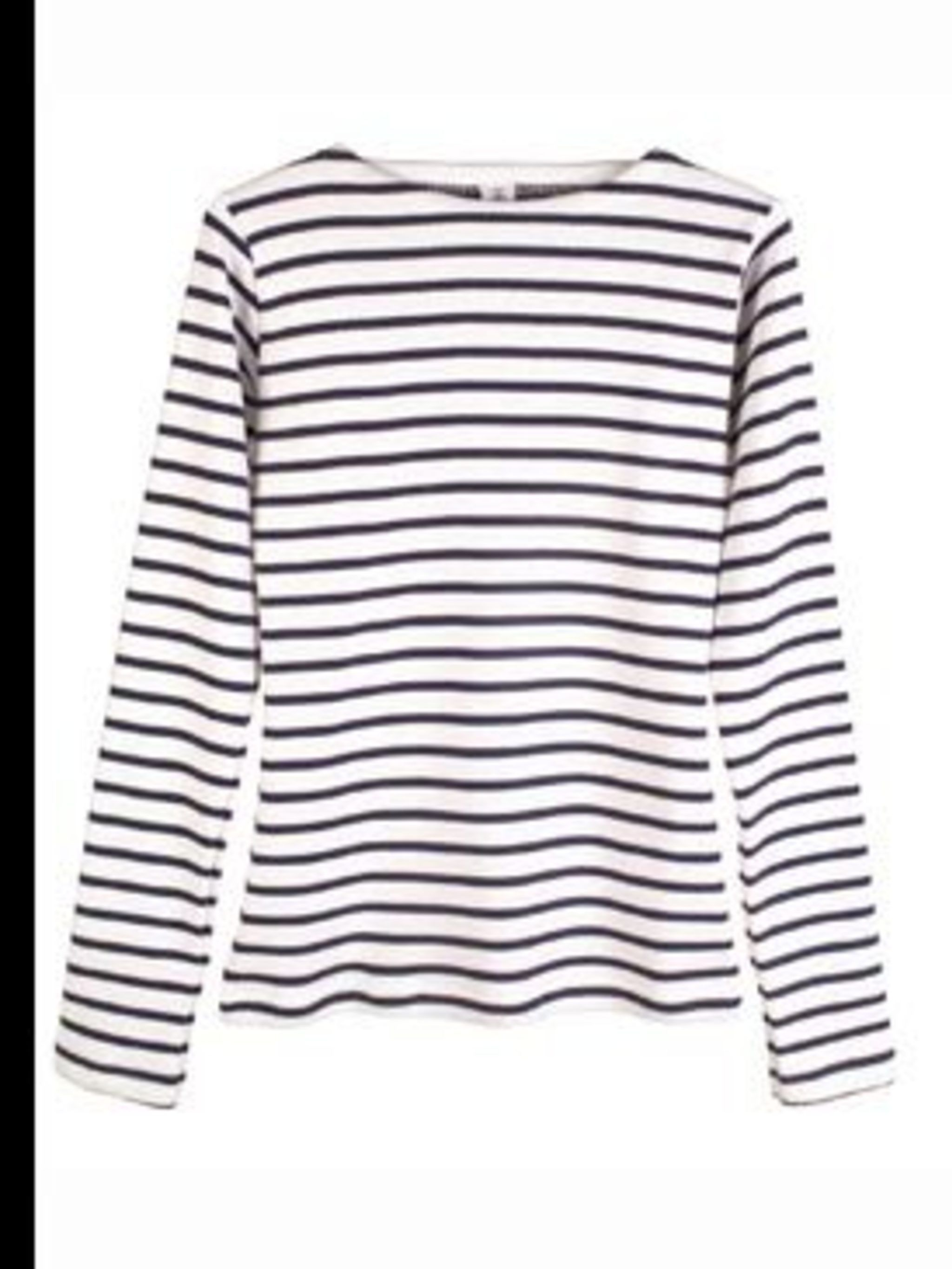 <p>Striped top, £32.50, by Petit Bateau. For stockist details call 020 7462 5770.</p>