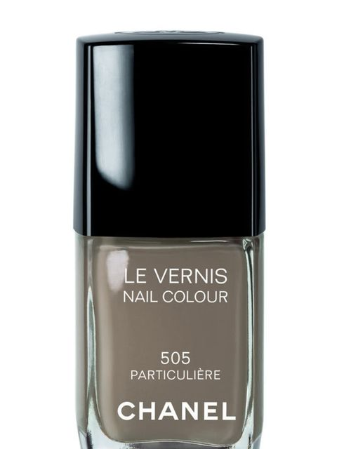 <p>Nail lacquer in Particuliere, £16, by Chanel (0207 493 3836)</p>