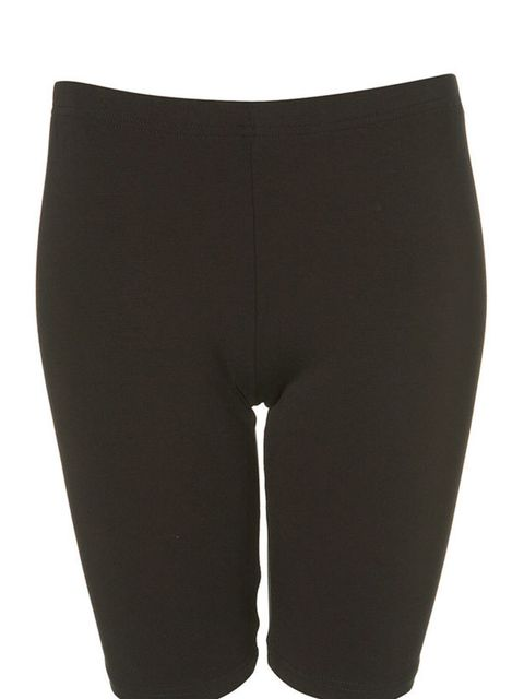 """<p>Black cycling shorts, £14, by <a href=""""http://store.americanapparel.co.uk/rsa8335.html?cid=178"""">American Apparel</a> </p>"""