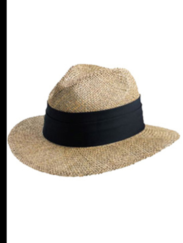"<p>Hat, £17.00 by <a href=""http://www.urbanexcess.com/p-5052-flexfit-safari-straw-hat.aspx"">Flexfit</a>   </p>"