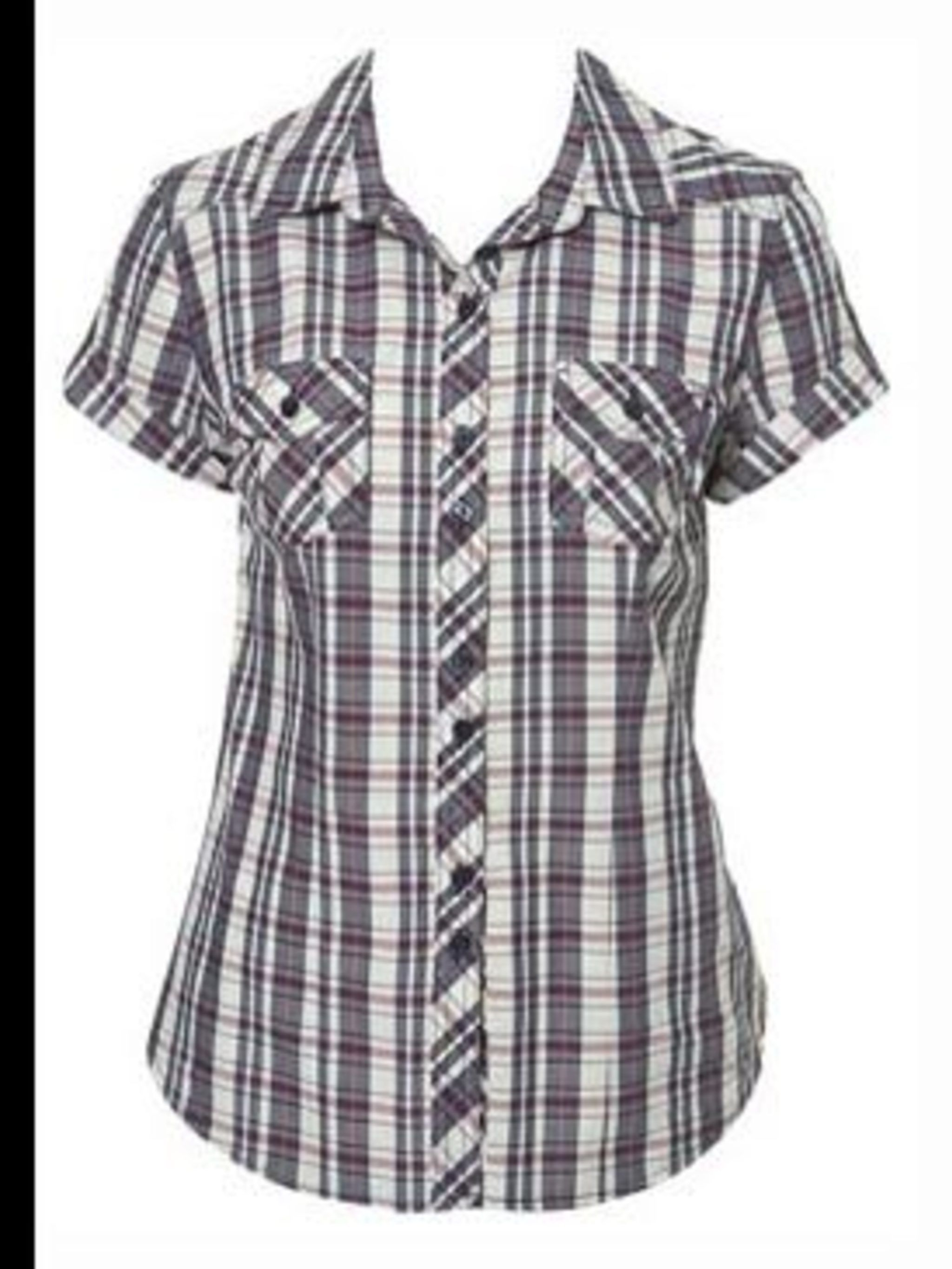"<p>Short sleeve check shirt, £25, by <a href=""http://www.topshop.com/webapp/wcs/stores/servlet/ProductDisplay?beginIndex=0&viewAllFlag=&catalogId=19551&storeId=12556&categoryId=93615&parent_category_rn=42325&productId=661234&la"