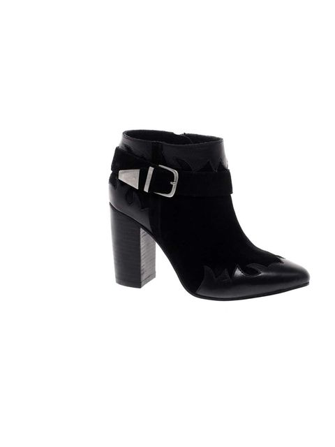 """<p><a href=""""http://www.asos.com/ASOS/ASOS-ANIMATE-Leather-Western-Ankle-Boots/Prod/pgeproduct.aspx?iid=2717206&cid=6455&sh=0&pge=0&pgesize=20&sort=-1&clr=Black"""">Asos</a> ankle boots, £60</p>"""