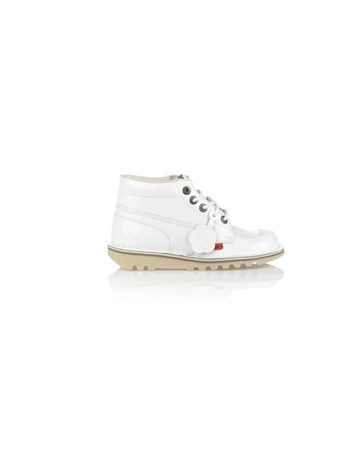 """<p>Remember these? 90s footwear is having a bit of a 'moment' and Kickers are at the forefront of the hi top come-back... Kickers patent boots, £75, at <a href=""""http://www.schuh.co.uk/prdsearch.aspx?searchterm=kickers&sterm=kickers&js=1"""">Schuh</a>"""