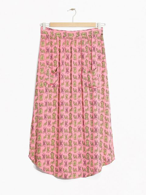 "<p><a href=""http://www.stories.com/gb/New_in/All_new_in/Tigress_Pocket_Skirt/108773759-114335921.1"" target=""_blank"">Viscose skirt, £45, & Other Stories</a></p>"