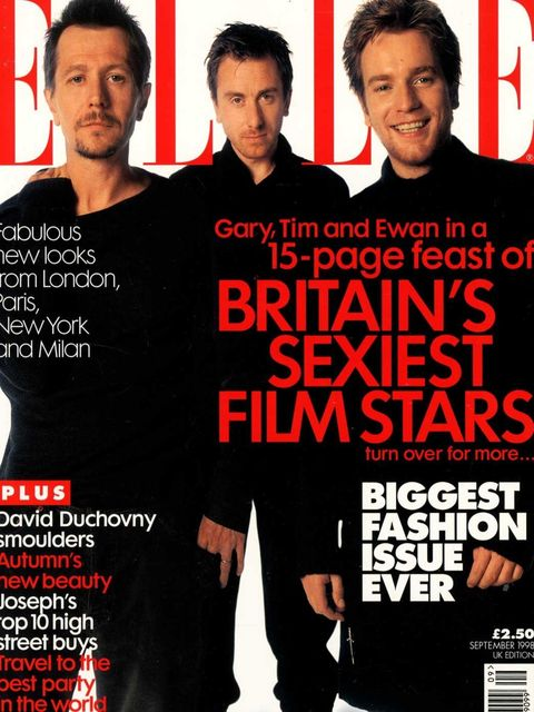 <p>Gary Oldman, Tim Roth and Ewan McGregor, September 1998</p>