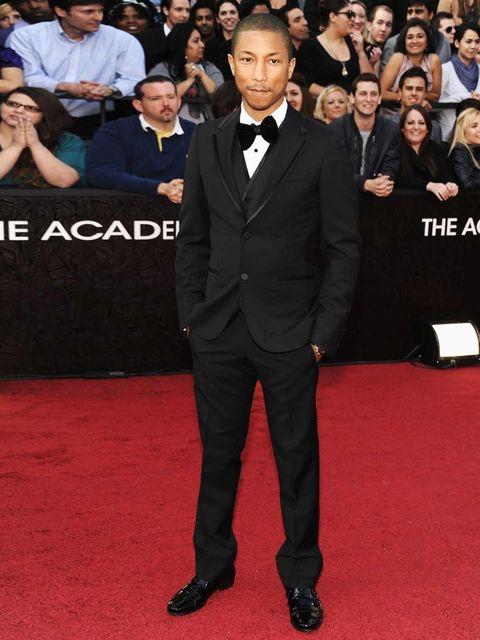 <p>Pharrell Williams in Lanvin</p>
