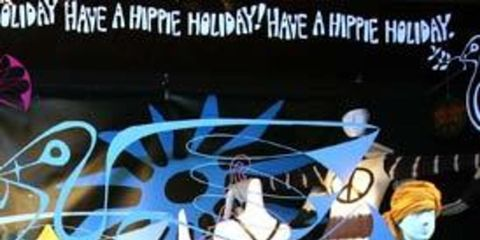 <p>Yesterday on Manhattan's Madison Avenue, iconic department store Barneys unveiled its vision for Christmas 2008 - a pledge for peace.</p><p>The store recruited some of New York's biggest designers to collaborate on the window displays, a celebration of