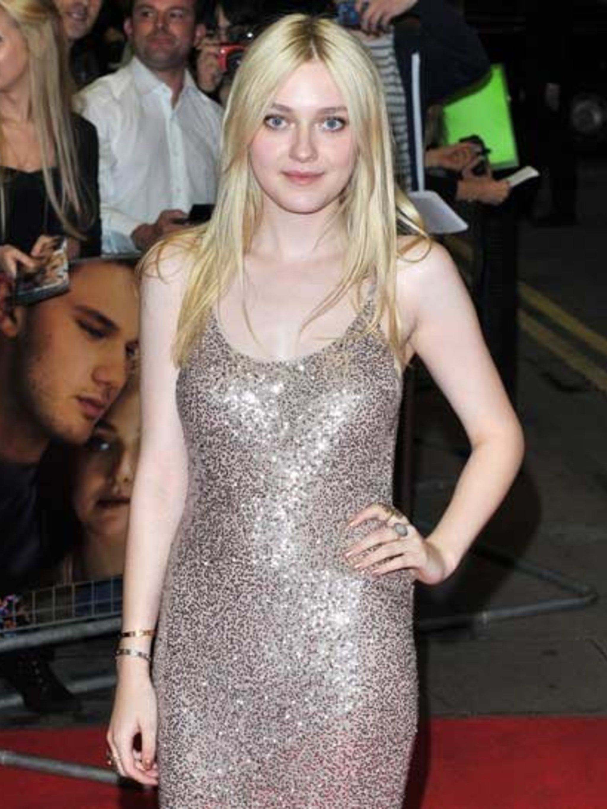 <p>Dakota Fanning at the Now Is Good premiere in London.</p>