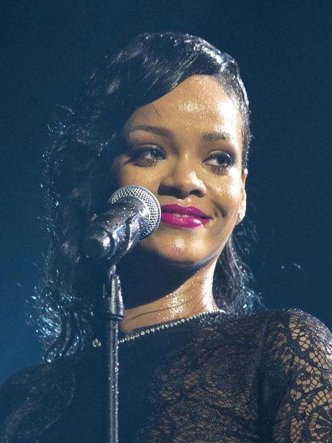 <p>Rihanna on the X Factor</p>