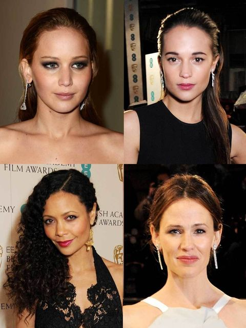"<p>It may be a cold and rainy night in central London but the stars are out in full force at the Bafta Awards at London's Royal Opera House tonight.</p><p>From EE Rising Star nominee and ELLE's High Street Supplement cover star <a href=""http://www.elleuk."