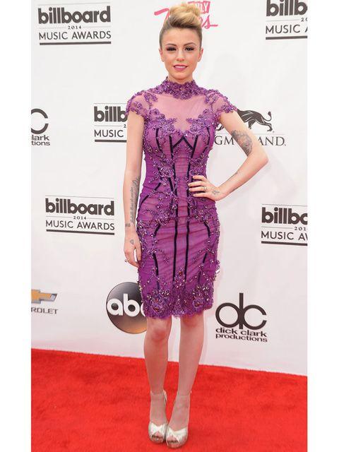 <p>Iggy Azalea wears Zuhair Murad pre-fall 2014 at the 2014 Billboard Music Awards, May 2014.</p>