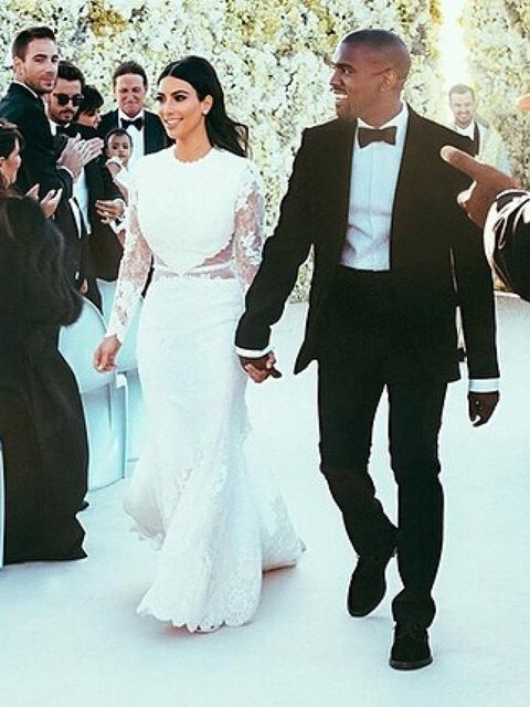 <p>It's official! Kimye LOVE Givenchy</p>