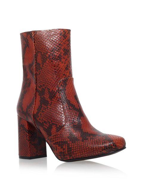 """<p><a href=""""http://www.kurtgeiger.com/snape-multi-coloured-leather-41-kg-kurt-geiger-shoe.html"""" target=""""_blank"""">Kurt Geiger boots</a>, £160</p>"""