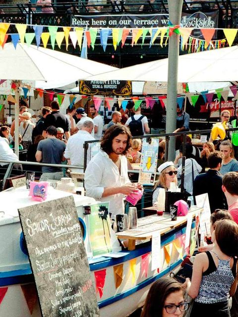 <p>EVENT: Lock Live</p>  <p>Surely there is no better thing in life than a festival. Hang on: how about a FREE festival? Yep, that might do it. Especially when said free festival is held throughout Camden Stables Market and canalside at Camden Lock, invol