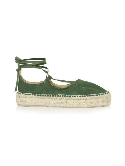 "<p>Pair with pale denim or a simple black sundress.</p>  <p><a href=""http://www.topshop.com/en/tsuk/product/new-in-this-week-2169932/new-in-this-week-493/kingfisher-espadrilles-4512526?bi=1&ps=200"" target=""_blank"">Topshop</a> espadrilles, £55</p>"