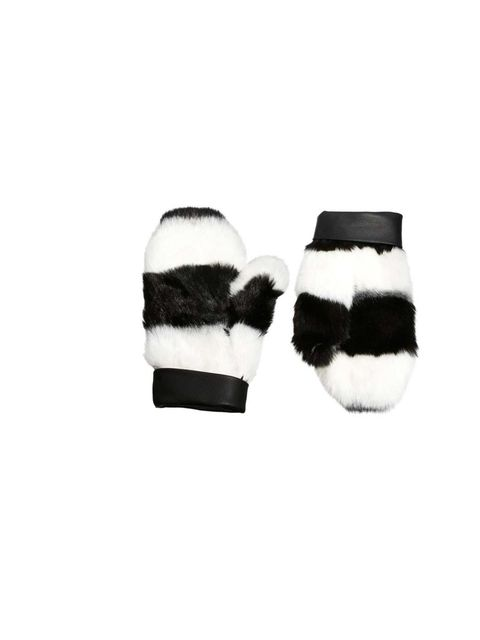 "<p>These wild-thing faux fur mittens are on Accessories Editor Donna Wallace's shopping list.</p><p><a href=""http://www.asos.com/ASOS/ASOS-Faux-Fur-Monochrome-Stripe-Mittens-With-Leather-Cuff/Prod/pgeproduct.aspx?iid=3032711&SearchQuery=mittens&sh"