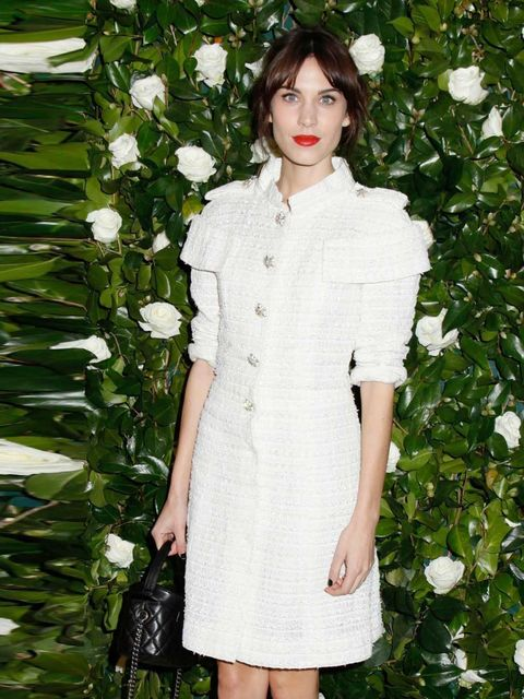 <p><strong>Alexa Chung</strong></p><p>Namesake of the label's most successful bag and a mainstay of its front row, she's practically part of the Mulberry family. A natural fit.</p>