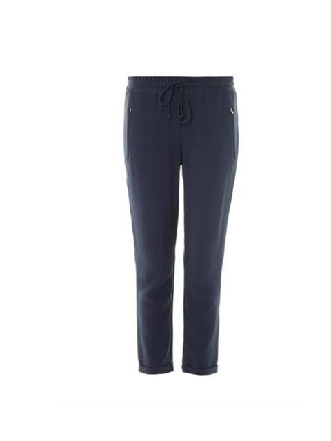 """<p>Start the day with a pair of loose fit trousers and achieve comfort and smart tailoring.</p><p>Hurrah !</p><p>These are from Stella McCartney, £400 available at <a href=""""http://www.matchesfashion.com/product/177291"""">Matches </a></p>"""