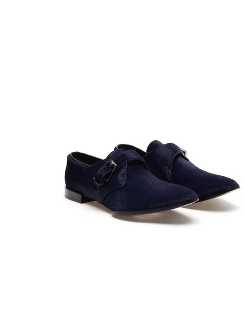 """<p>Donna Wallace, Accessories Editor: 'It's hard to find a good navy shoe, especially one in the sale. But these are luxe and will go with lots of things in my wardrobe.'</p><p>Alexander Wang Oxford shoes, were £425 now £212, at Browns</p><p><a href=""""http"""