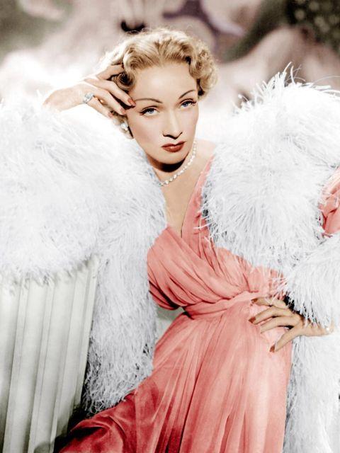 <p>Marlene Dietrich in Stage Fright</p>