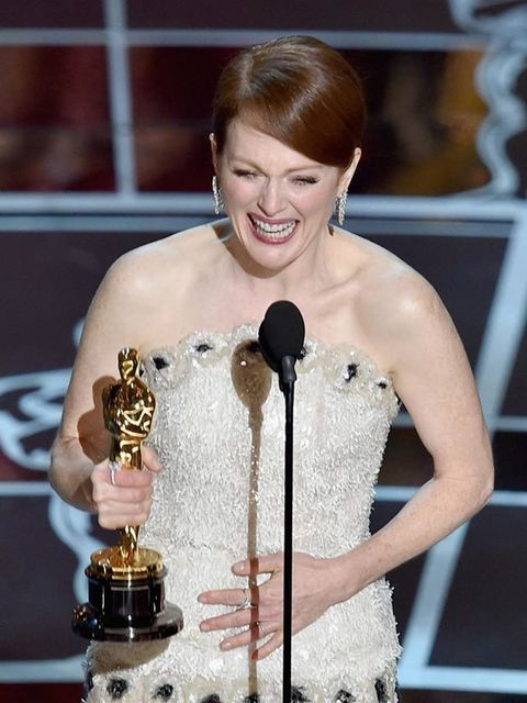 <p>Julianne Moore wins Best Actress for her role in &#39&#x3B;Still Alice&#39&#x3B;, at the 2015 Academy Awards.</p>