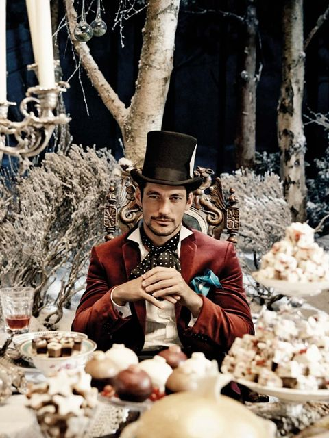 <p>David Gandy in the Marks & Spencer Christmas 2013 ad</p>
