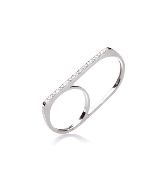 "<p>Add the finishing touch to your summer wardrobe with this minimalist double ring… <a href=""http://www.grandbazaarlondon.co.uk/rings-c3/grand-bazaar-london-sterling-silver-twin-ring-with-cubic-zirconia-detail-p90"">Grand Bazaar</a> London twin ring, £89<"