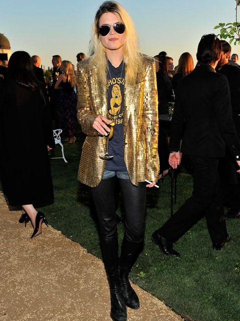 <p>Alison Mosshart attends Burberry's 'London in Los Angeles' event, April 2015</p>