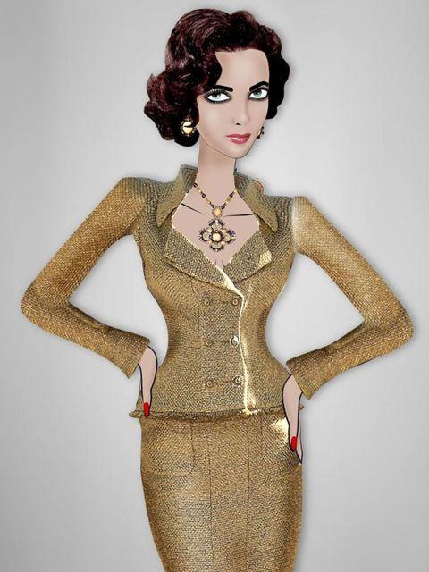 <p>Chanel for amfAR</p>