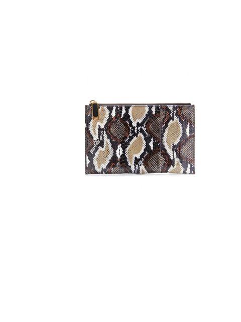 "<p>Fendi snakeskin clutch, £335, at <a href=""http://www.mytheresa.com/uk_en/flat-snakeskin-clutch.html"">mytheresa.com</a></p>"