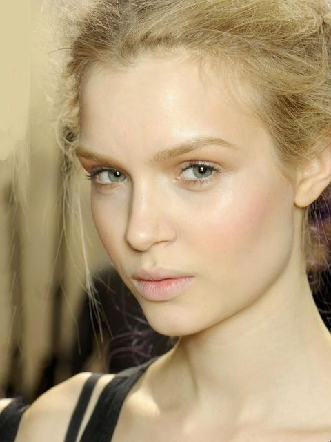 """<p>This is very much Britain's year (thanks to the Jubilee and the Olympics) and backstage Britain was referenced regularly as inspiration by make-up artists.</p><p>At <a href=""""http://www.elleuk.com/catwalk/designer-a-z/margaret-howell/autumn-winter-2012"""""""