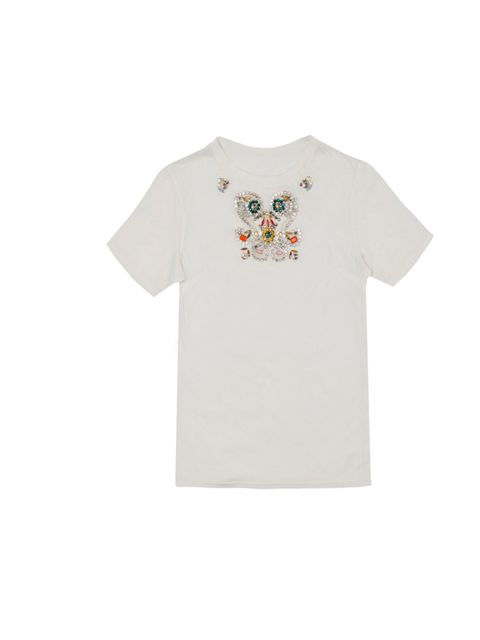 "<p><a href=""http://www.zara.com/webapp/wcs/stores/servlet/home/uk/en/21052"">Zara</a> embellished T-shirt, £29.99</p>"
