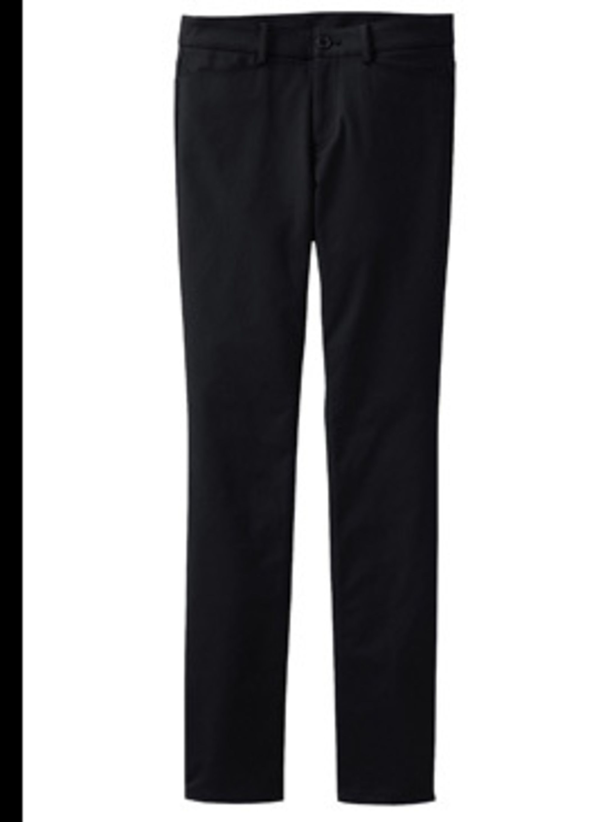 <p>Trousers, £24.99 from Uniqlo. For stockists call 0208 247 9200</p>