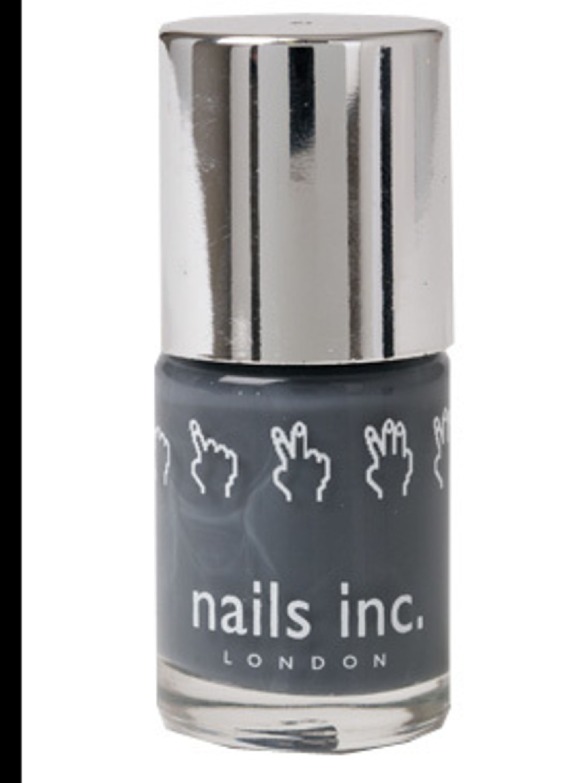 """<p>Nail Varnish, £10.50 at <a href=""""http://www.nailsinc.com/Product/379/the-thames-nail-polish"""">Nails Inc</a></p>"""