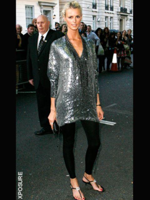 <p>Jacquetta Wheeler in Gucci</p>