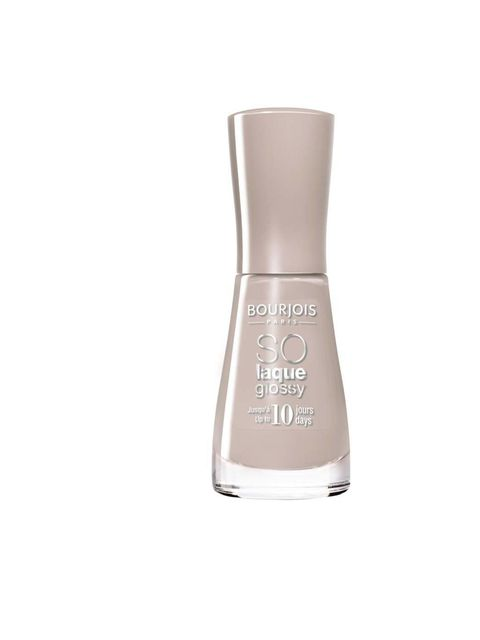 """<p><a href=""""http://www.bourjois.co.uk/"""">Bourjois</a> So Laque Glossy Nail Enamel in Beige, £4.49. Out in April.</p>"""